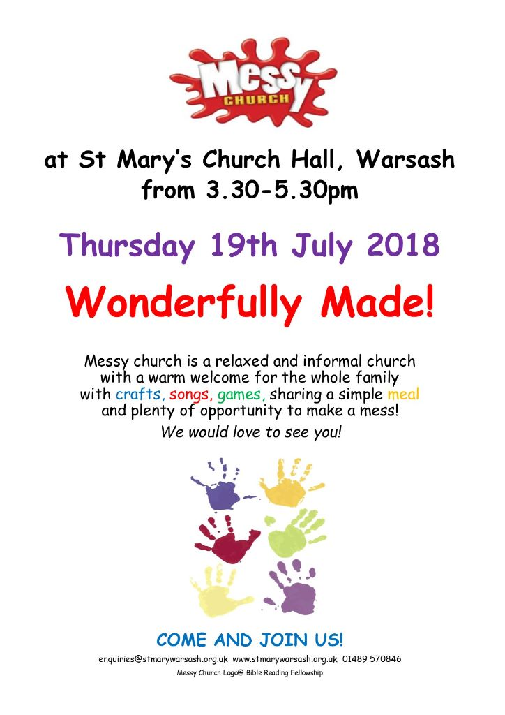 Messy Church @ Church Hall